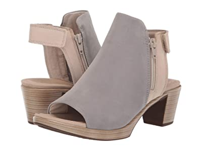 Naot Favorite (Light Gray Nubuck/Beige Nubuck) Women