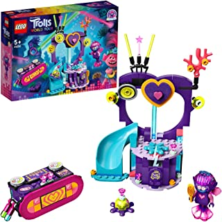 LEGO 41250 Trolls World Tour Techno Reef Dance Party Playset with Mermaid and Octopus Figures
