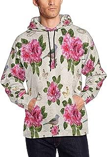 InterestPrint Men's Athletic Sweaters Fashion Hoodies Sweatshirts