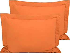 FLXXIE 2 Pack Microfiber Pillow Shams, Ultra Soft and Premium Quality, 20