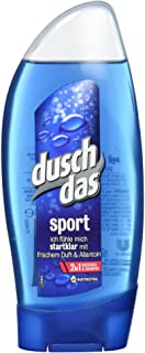 Duschdas 2-w-1 żel pod prysznic i szampon sportowy o sportowym świeżym zapachu, testowany dermatologicznie 250 ml, 1 sztuka