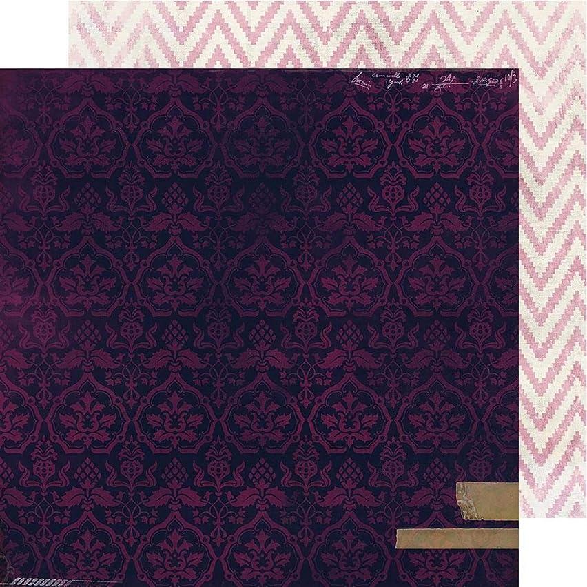 Heidi Swapp 314106 Velvet Patterned Paper 12-x-12