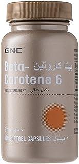 GNC BETA CAROTENE for Unisex, 6 mg