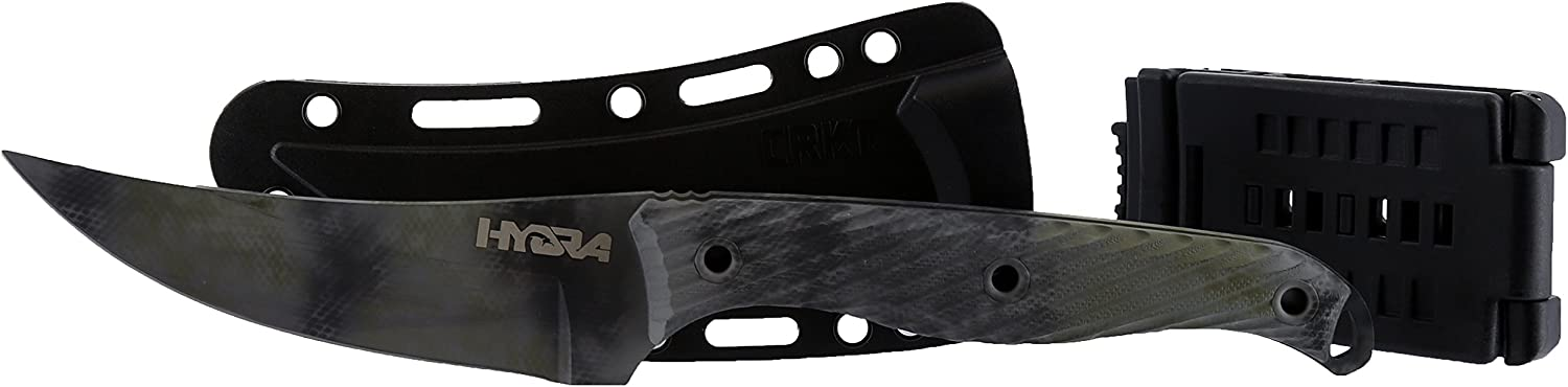 HYDRA Tactical Custom Cerakoted Clever wi Fixed Knife Girl 超激安特価 Blade マーケット
