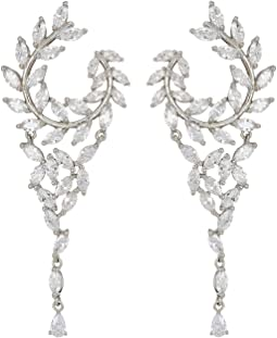 Nina - Fern Front/Back Chandelier Earrings