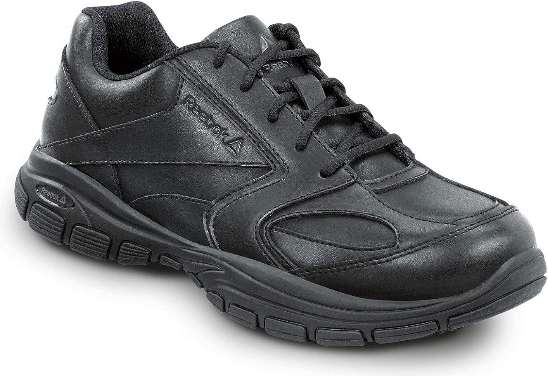 Reebok Work Senexis, Black, Women's Athletic Style Slip Resistant Soft Toe Work Shoe