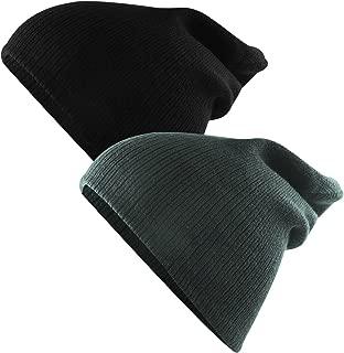 Unisex Kids Knit Cute Cuff Baggy Hip-hop Slouchy Hat Warm Children Beanie Boys Girls