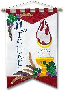 Illuminated Ink First Communion Banner Kit - 12 x 18 - Holy Spirit