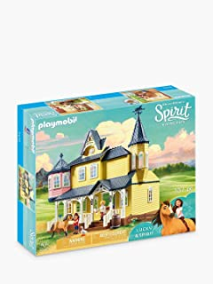 PLAYMOBIL DREAMWORKS - Spirit Riding Free 9475 Lucky's Happy Home