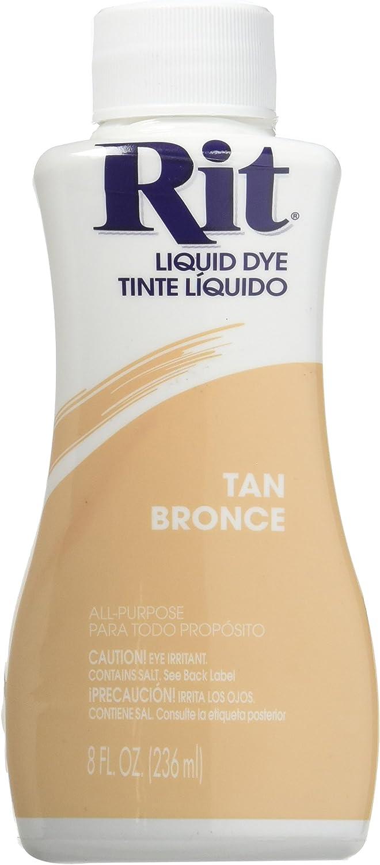 Rit 88160 8 Store Oz Liquid Tan Dye NEW