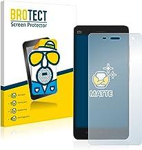 BROTECT Protector Pantalla Anti-Reflejos Compatible con Xiaomi Mi4 (2 Unidades) Pelicula Mate Anti-Huellas