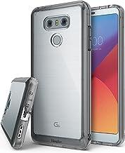 Ringke Funda LG G6 / G6 Plus [Fusion] Protector de TPU con Parte Posterior Transparente de PC [Protección contra caídas] Carcasa Protectora biselada - Negro Humo Smoke Black