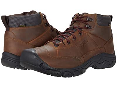 KEEN Targhee III Waterproof Chukka (Shitake/Forest Night) Men