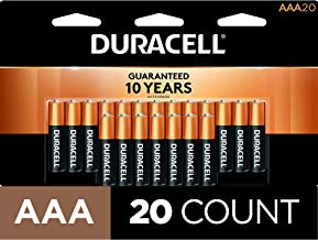 Duracell – CopperTop AAA Alkaline Batteries – long lasting, all-purpose..