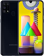 Samsung Galaxy M31 - Smartphone Dual SIM, Pantalla de 6.4 sAMOLED FHD+, Cámara 64 MP, 6 GB RAM, 64 GB ROM Ampliables, Batería 6000 mAh, Android, Versión Española, Color Negro