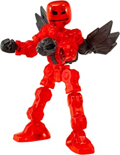 Zing Klikbot Axil - Series 1 - Red - Stop Motion Animation Toy Figure