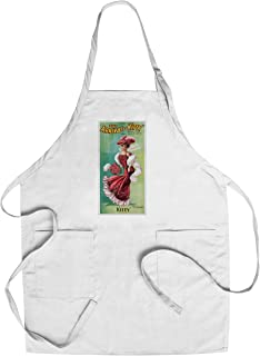 The Arrival of Kitty Vintage Poster USA c. 1906 (Cotton/Polyester Chef's Apron)