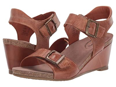 Taos Footwear Buckle Up (Camel) Women