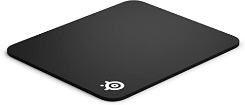 SteelSeries QcK Gaming Surface - Medium Thick Cloth - Best Selling Mouse Pad of All Time - Peak Tracking and Stabilit...