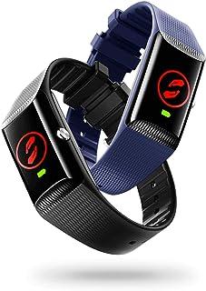 V by Vodafone V-SOS band, een armband met SOS-alarmknop en valdetectie voor binnen en buiten, zwart