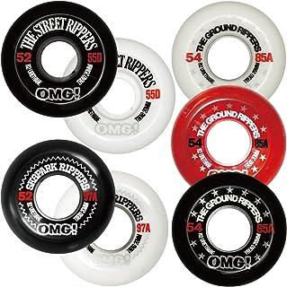 オーエムジー(OMG!) スケボー スケートボード ウィール 85A 97A 55D 52mm 54mm 56mm 60mm 4個1セット