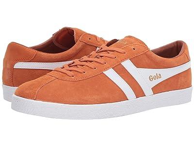 Gola Trainer Suede (Moody Orange/White) Men