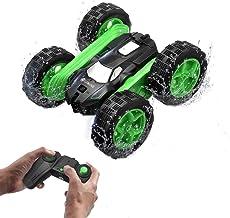 EACHINE EC02 Mini Coche de Control Remoto para Niños, Rotación de 360 RC 4WD Monster Truck Coche de Acrobacias Giratorio de Doble Cara Giratorio Vehículo de Oruga de Roca de Alta Velocidad de 2.4GHz
