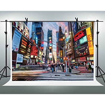 Amazon Com Fhzon 10x7ft New York Times Square Photography Backdrop Prosperous City Posters Screen Travel Background Theme Party Youtube Backdrops Photo Booth Studio Props Lxfh161 Camera Photo