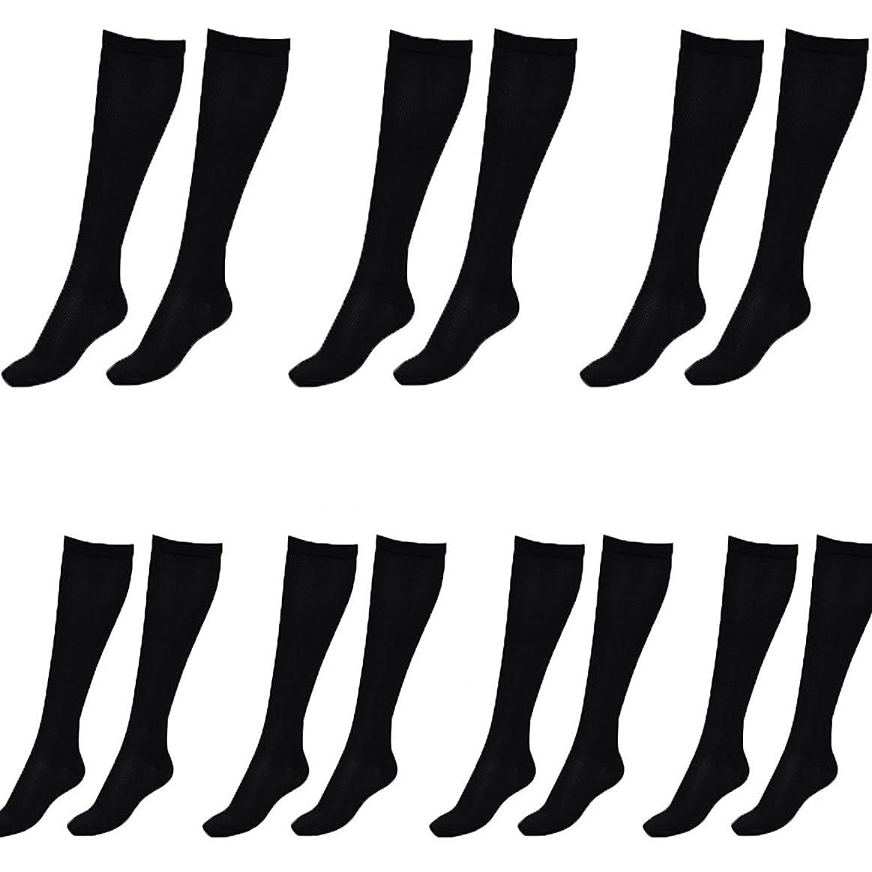 障害者露出度の高い鷹美脚X ビキャックス 強圧補正ソックス レディース 7足セット 着圧 ソックス 引き締め 伸縮 靴下