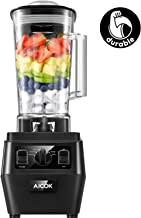 AICOK Blender, Professional Countertop Durable Blender for Shakes and Smoothies, Ice Crushing, Frozen Drinks with Dishwasher Safe 70oz BPA-Free Tritan Jar, 1400W (2019 Version)