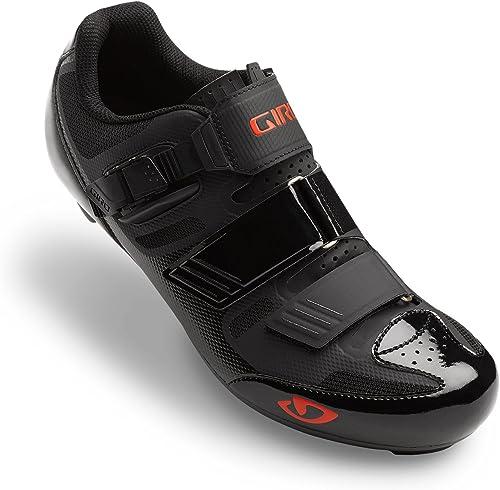 Giro Apeckx II Road, schuhe de Ciclismo de Carretera para Hombre, (schwarz Bright rot 000), 44.5 EU