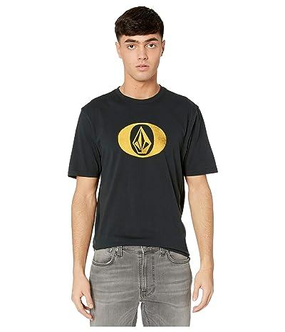Volcom Eliptical Short Sleeve Tee (Black) Men