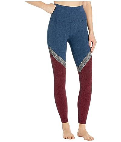 Beyond Yoga Spacedye High-Waisted Midi Leggings (Insignia Navy) Women