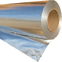 RadiantGUARD Ultima Radiant Barrier Industrial Grade 500 sq ft roll | 48-inch by 125-feet | U-500-B | Reflective Aluminum Breathable Attic Foil House Wrap Insulation – Blocks 97% of Heat