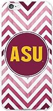 OTM Essentials Arizona State University, Chevron Cell Phone Case for iPhone 6/6s Plus - White
