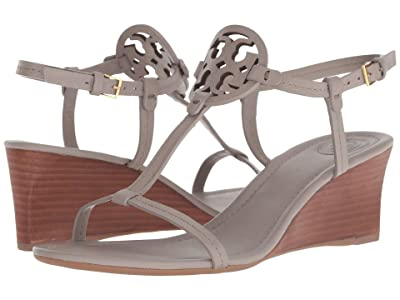 Tory Burch 60 mm Miller Wedge (Dust Storm) Women