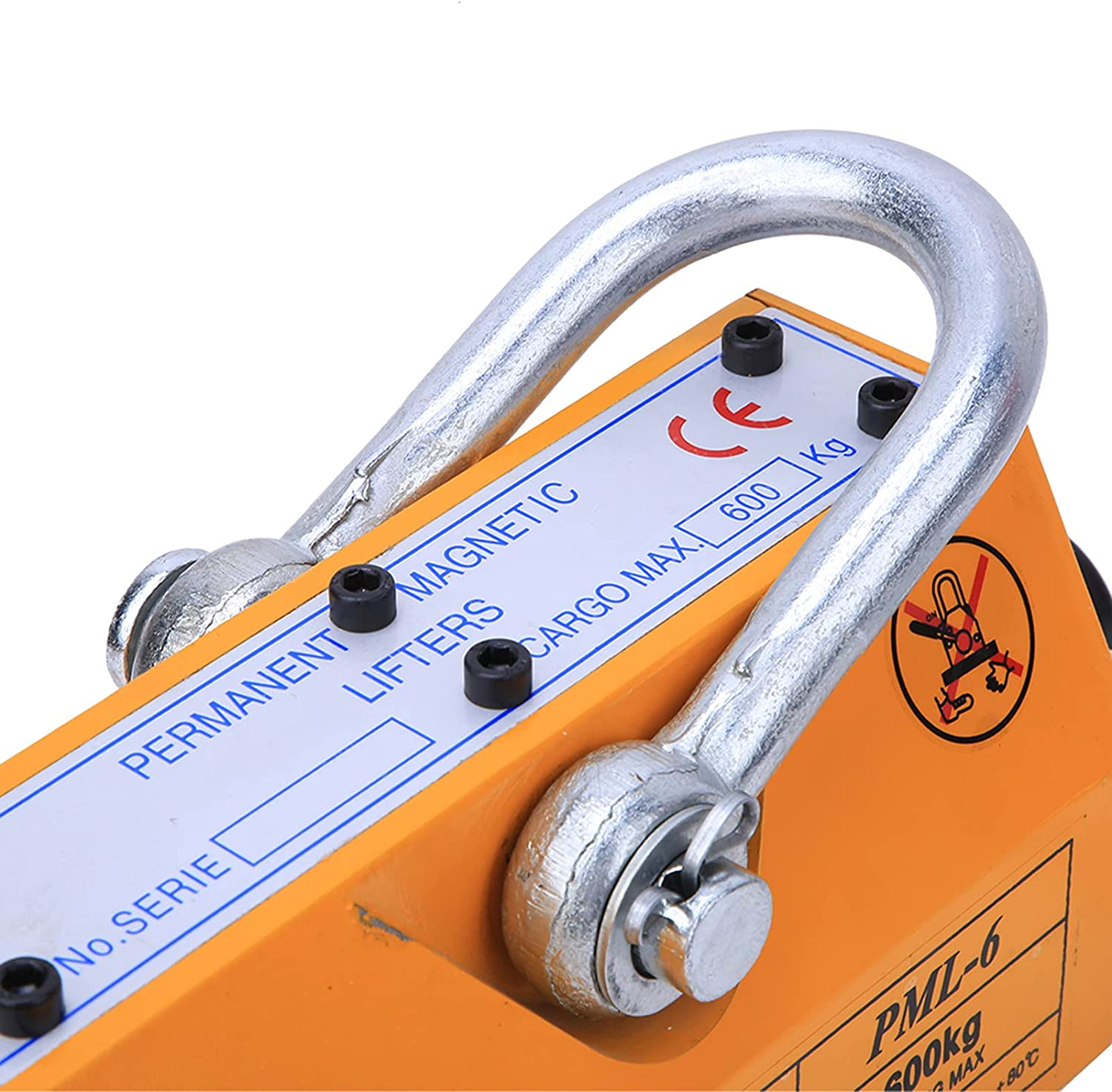 Magnetic Lifter, Safe and Reliable Strong Force Hoist Lifting Ma