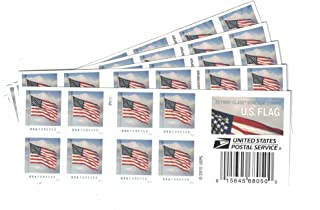 USPS U.S. Flag Forever Stamps 100 Stamps (5 books of 20)