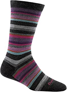 Darn Tough Sassy Stripe Crew Light Socks - Women's