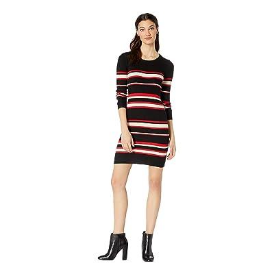 Sanctuary Trailblaze Sweater Dress (Street Red Stripe) Women