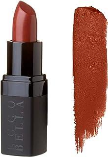 Ecco Bella, FlowerColor Moisturizing Lipstick, Natural, Organic Color with Nourishing Vitamin E 0.13 oz. (Café au Lait)