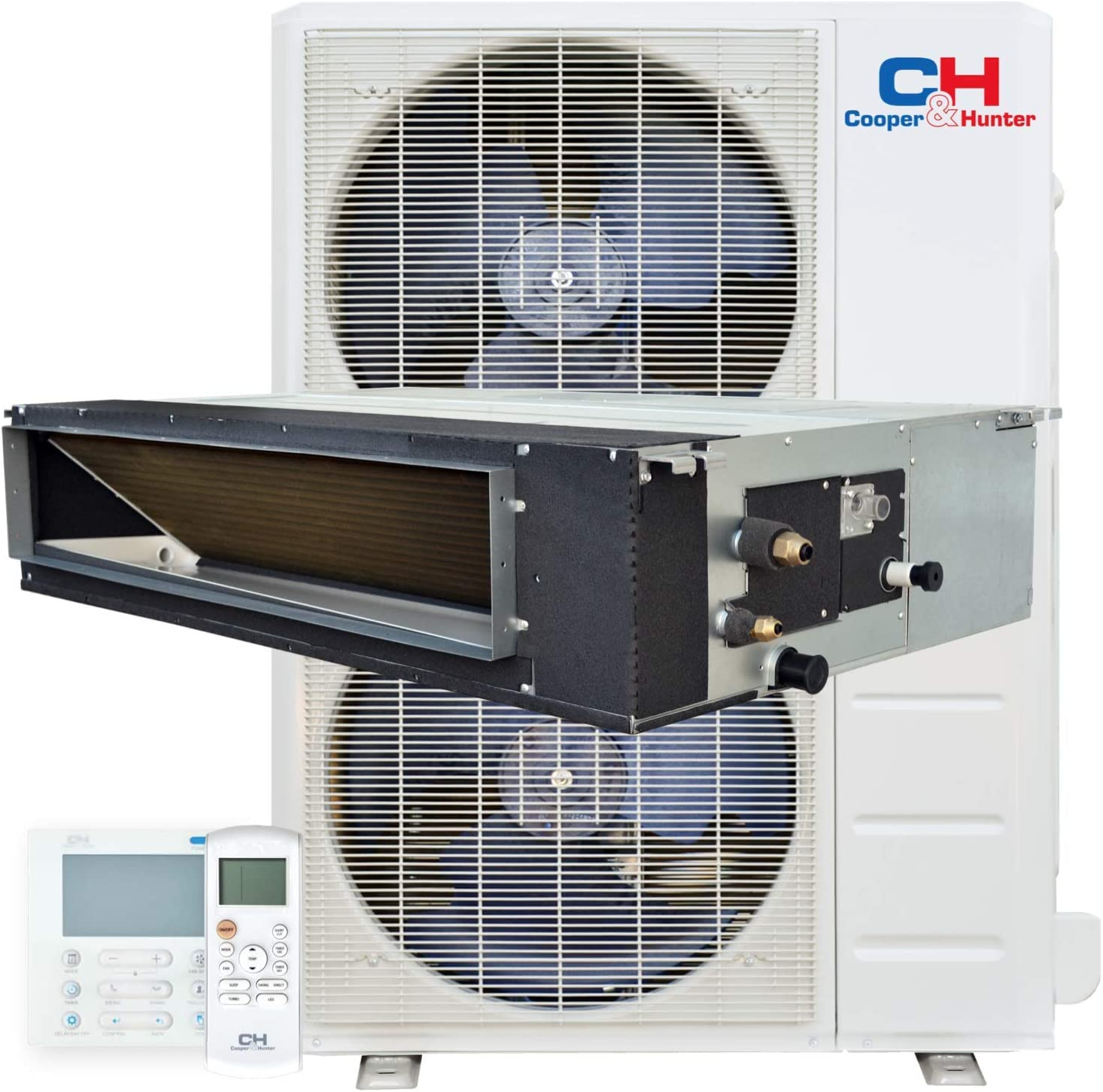 60 000 BTU Ducted Mini Split New Free Shipping Duct Heat Conditioner Air Large-scale sale Concealed