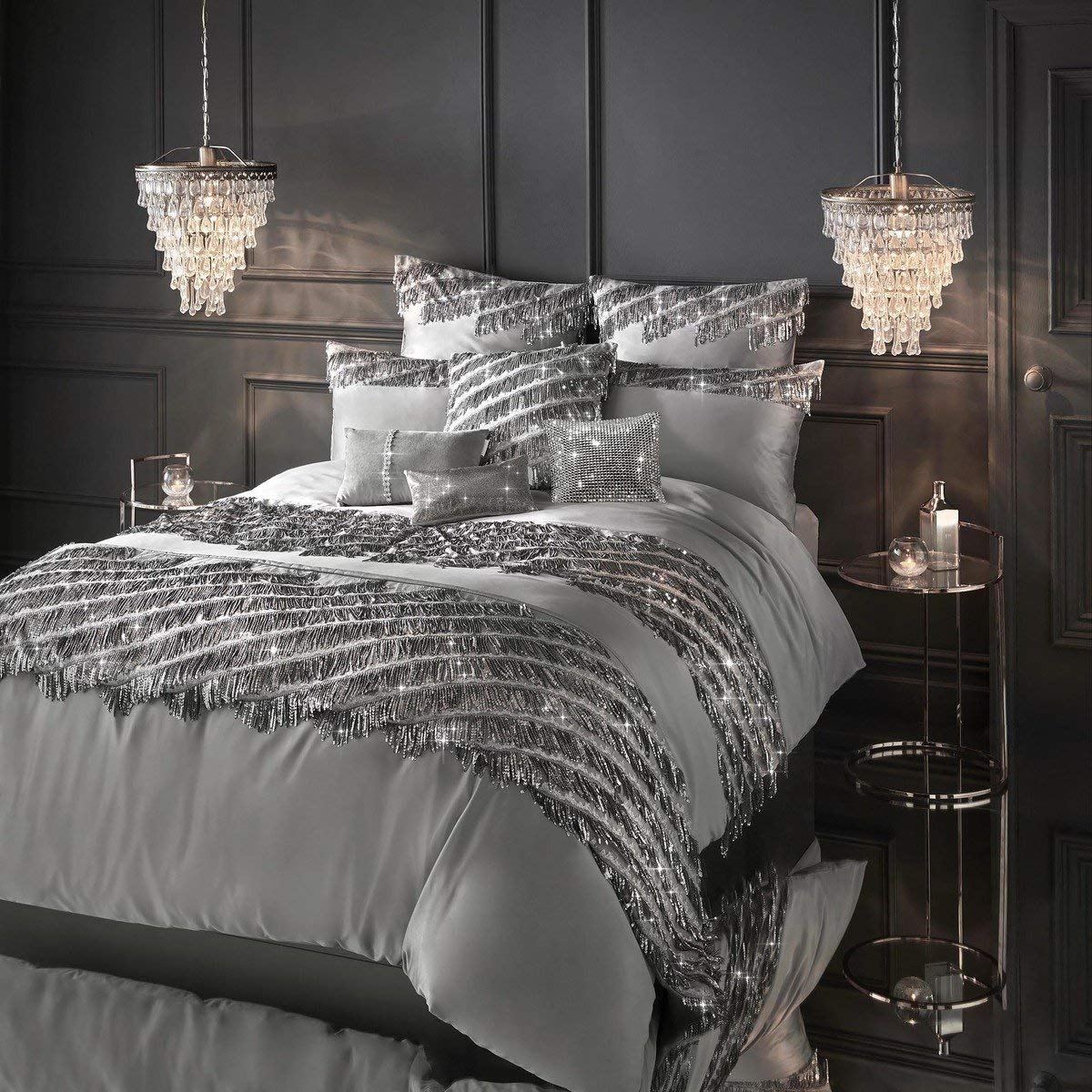 Kylie Minogue Eliza Pewter Pillowcase