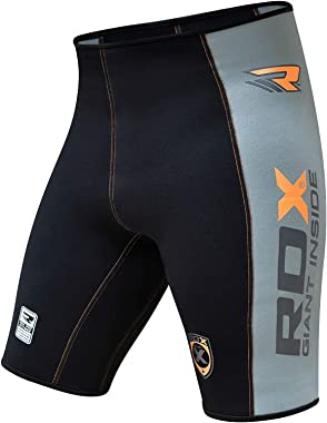 RDX MMA Thermal Men's Compression Shorts Base Layer Training Boxing Fitness Running Exercise