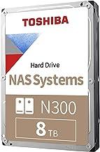 $174 » Toshiba N300 8TB NAS 3.5-Inch Internal Hard Drive - CMR SATA 6 GB/s 7200 RPM 256 MB Cache - HDWG180XZSTA