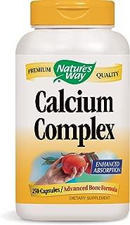 Nature's Way Calcium Complex Bone Formula, 250 Capsules