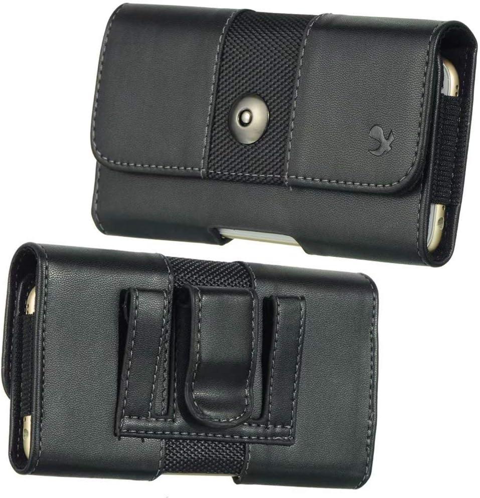 Belt Loop Phone Holder Bag Fit for Motorola Moto G8 Plus, G8 Play, E6 Play, E6, G7 Play, G7, G7 Plus, Z4, One Macro, One Zoom