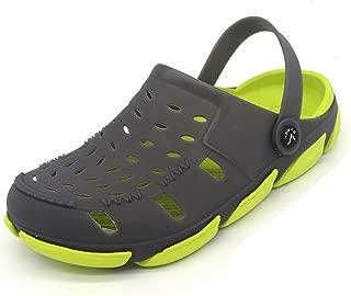 SVAAR Lite Ride Green Clog Shoes for Men