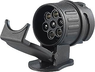 iapyx® Adapter voor auto en aanhanger, 13-polig op 7-polig (adapter/trekhaak van 13-pins auto op 7-pins aanhanger)