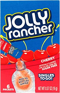 Jolly Rancher Singles to Go - Variety (Pack of 6) (Cherry)